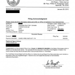Non Profit Filing Document