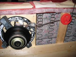 Transducer Installed