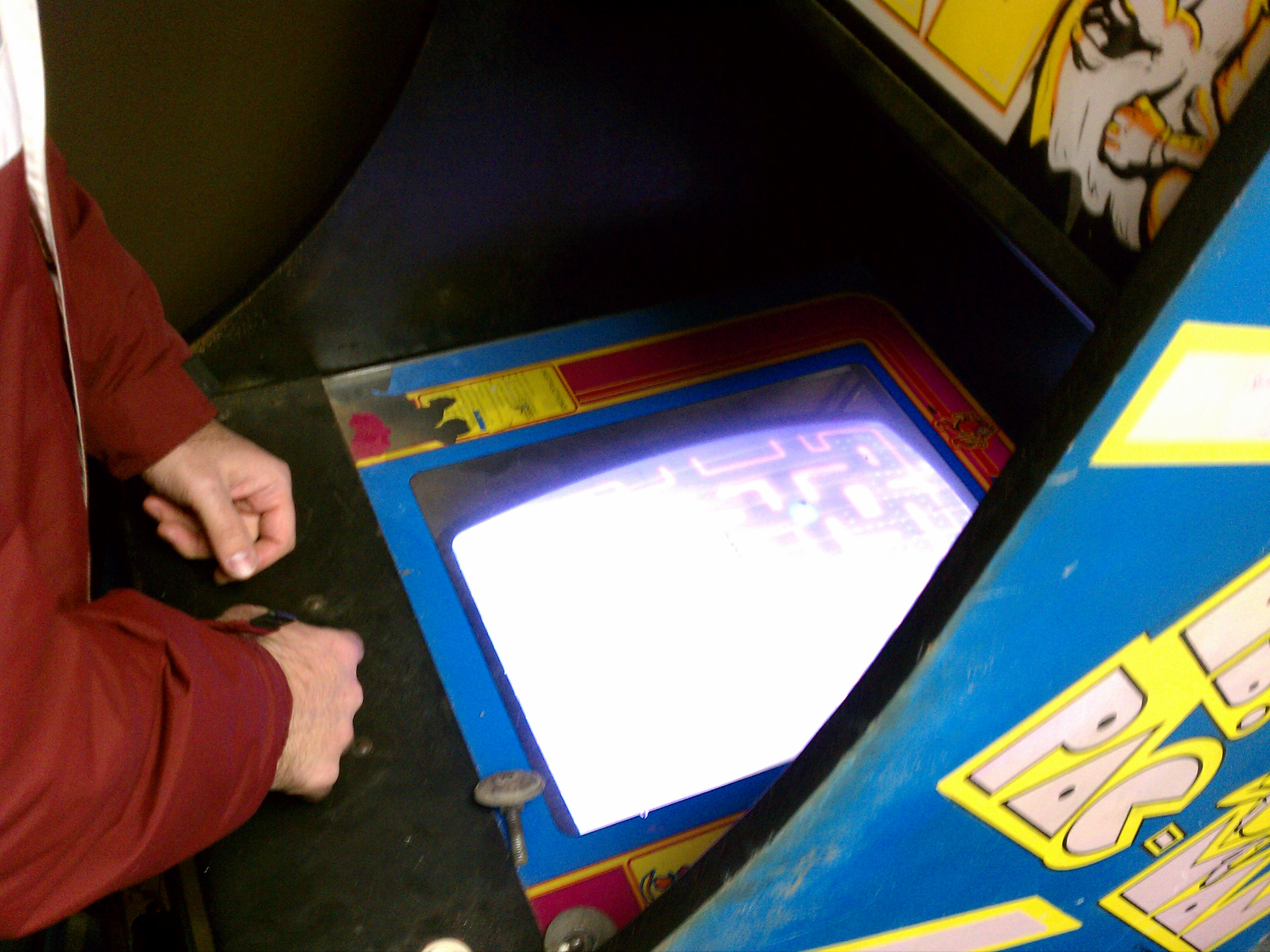Playing Ms. Pacman