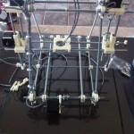 Prusa Mendel in building stage