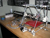 Dan's Rep rap Prusa 3d Printer