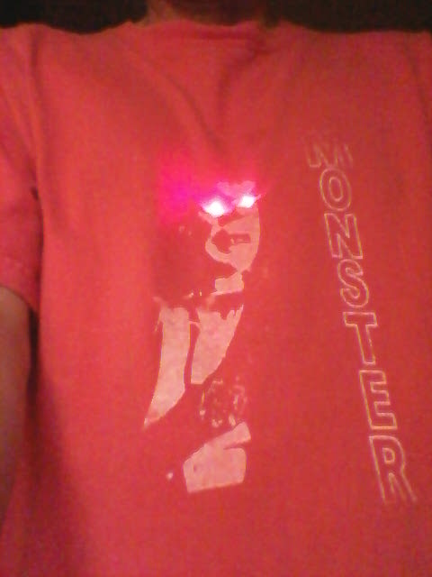 Roy's LED Shirt