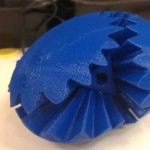 I found it easier to assemble the larger gears first. It allowed me to better align and mesh the smaller gears.