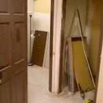 Future dark room (left) Breaker closet (right)