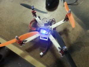 Claudio's Quadcopter