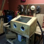 Finished Sandblasting Cabinet
