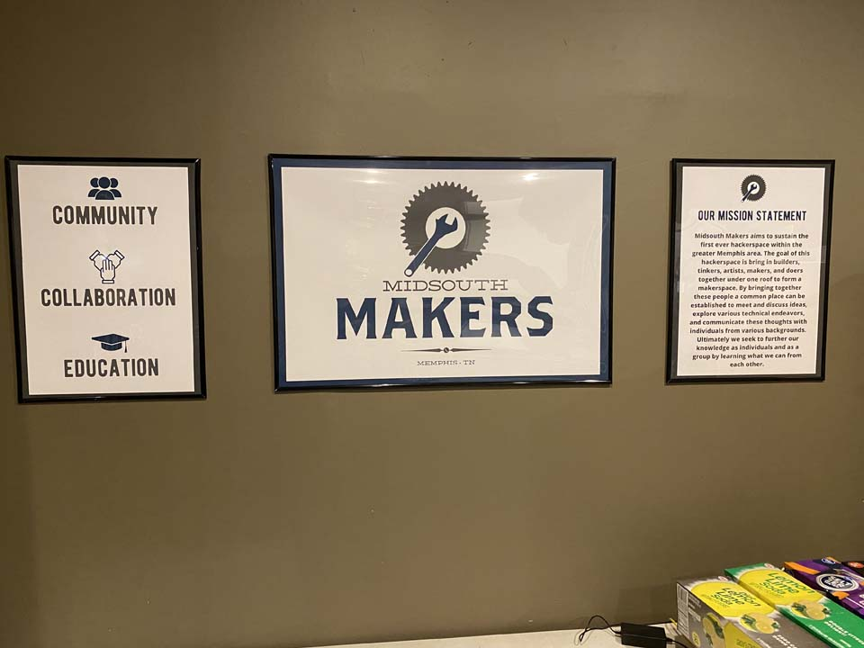 MidsouthMakers Common Room Posters